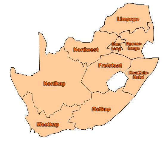 Südafrika Karte Sehenswürdigkeiten.Südafrikaurlaub Net Deutsche Unterkünfte Und Infos über Südafrika