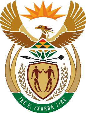 Die National Symbole Südafrikaurlaubnet