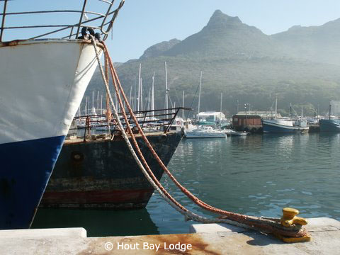 Hout Bay Hafen